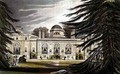 Garden front of Chiswick House - (after) Gendall, John