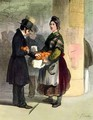 The Orange Seller - Alfred Andre Geniole