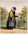 The Woman of the Invalides from Les Femmes de Paris - Alfred Andre Geniole