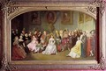 Members of the Comedie Francaise in 1840 - Edmond Aime Florentin Geffroy