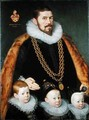 A Pair of Family Portraits 2 - Gortzius Geldorp
