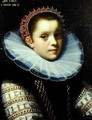 Portrait of a Young Girl Wearing a Ruff - Gortzius Geldorp