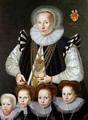A Pair of Family Portraits - Gortzius Geldorp