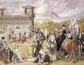The Races at Longchamp in 1874 - Pierre Gavarni