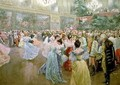 Court Ball at the Hofburg - Wilhelm Gause