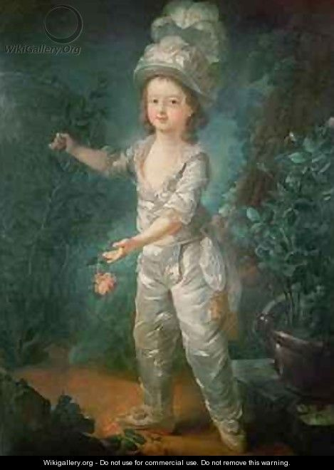 Portrait of the Dauphin - Jacques - Fabien Gautier - Dagoty