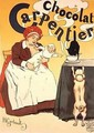 Reproduction of a poster advertising Carpentier Chocolate - Henri Gerbault