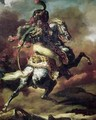 Officer of the Hussars Charging on Horseback - Theodore Gericault