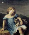Portrait of Louise Vernet as a Child - Theodore Gericault