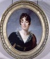 Portrait of Desiree Clary 1781-1860 Princess Royal of Sweden - Baron Francois Gerard