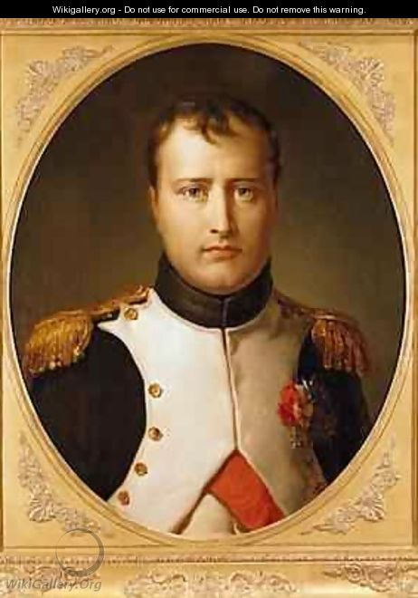 Portrait of Napoleon 1769-1821 in Uniform - Baron Francois Gerard