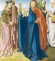 The Virgin Mary with St John the Evangelist and the Holy Women right wing from the Triptych of the Crucifixion - Gerard David