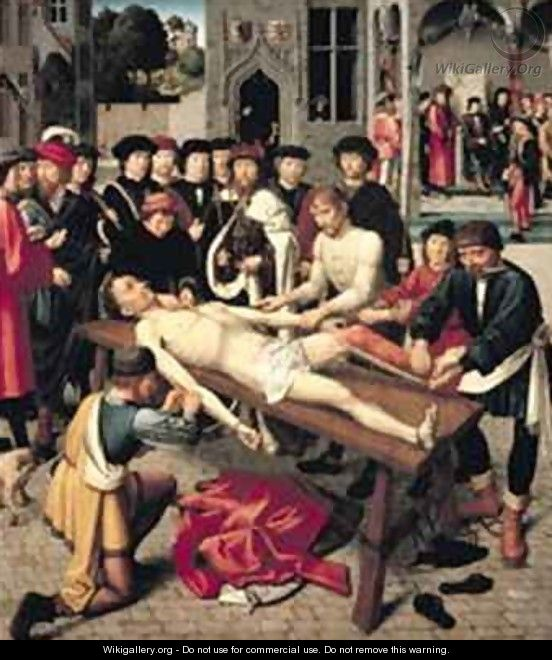 The Flaying of Sisamnes - Gerard David
