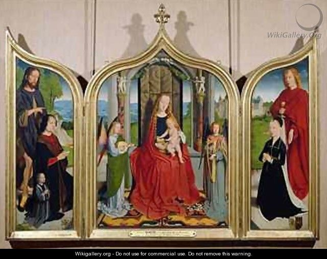 The Triptych of the Sedano Family - Gerard David