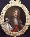 Portrait of James II 1633-1701 in Garter robes - Benedetto Gennari
