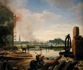 Hamburg after the Fire of 1842 - Johann Martin Gensler