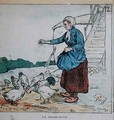 Feeding the Chickens - Charles Genty