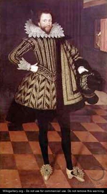 Sir John Kennedy of Barn Elms - Marcus The Younger Gheeraerts