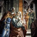 The Expulsion of Joachim from the Temple - Davide Ghirlandaio
