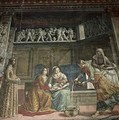 The Birth of the Virgin - Davide & Domenico Ghirlandaio