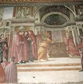 The Angel appearing to St Zacharias in the Temple - Davide & Domenico Ghirlandaio