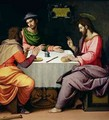The Supper at Emmaus - Ridolfo Ghirlandaio