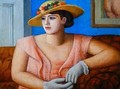 Portrait of Marjorie Gertler - Mark Gertler