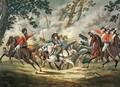 English Light Horse Attacking French Artillery - (after) Gessner, Conrad