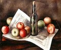 Still life with apples 2 - Mark Gertler