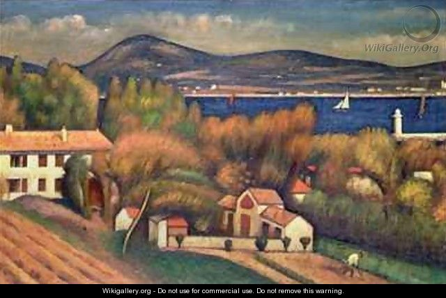 St Tropez - Mark Gertler