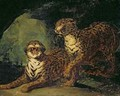 Two Leopards - Theodore Gericault