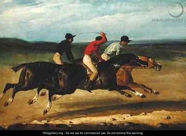 The Horse Race - Theodore Gericault