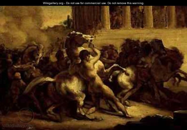 Race of the riderless horses - Theodore Gericault