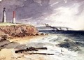 Lighthouse Queenscliff Victoria - Samuel Thomas Gill