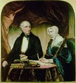 Portrait of William and Mary Wordsworth - Margaret Gillies