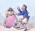 My Poll and My Partner Joe - James Gillray