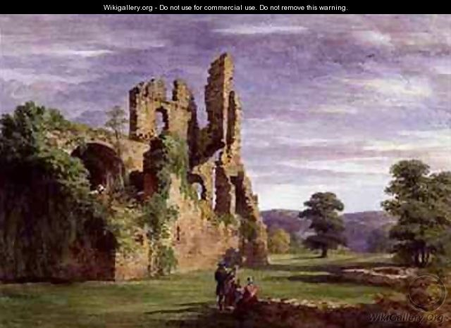 Gight Castle - James William Giles