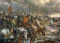 Morning of the Battle of Agincourt - Sir John Gilbert