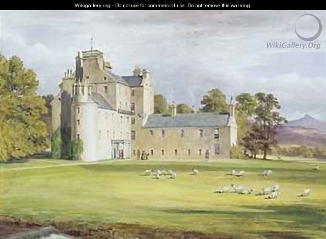 Monymusk House - James William Giles