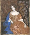 Mary of Modena as Duchess of York - Richard (Dwarf Gibson) Gibson