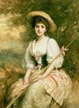 Mrs Stuart M Samuel as Phyllida The Shepherdess - Sir Samuel Luke Fildes