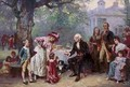 George Washington and his Family - Jean-Leon Gerome Ferris