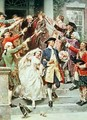 Here Comes the Bride the Wedding of George and Martha Washington in 1759 - Jean-Leon Gerome Ferris