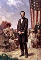 The Gettysburg Address - Jean-Leon Gerome Ferris