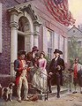 News from Mount Vernon in 1796 - Jean-Leon Gerome Ferris