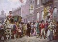 Washingtons Inauguration at Independence Hall - Jean-Leon Gerome Ferris