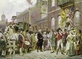 Washingtons Inauguration at Philadelphia in 1793 - Jean-Leon Gerome Ferris