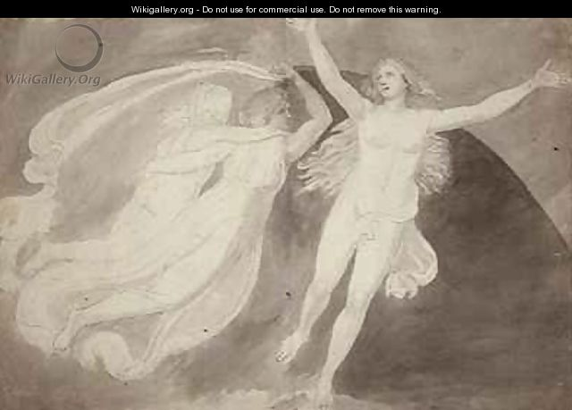 The Ascension of a Soul - John Flaxman