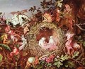 Fairies in a Birds Nest - John Anster Fitzgerald