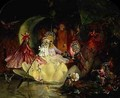 The Marriage of Oberon and Titania - John Anster Fitzgerald